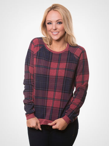 True Redwood Plaid