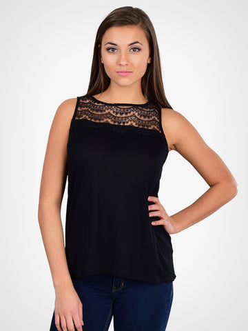 Rai Scallop Lace Top