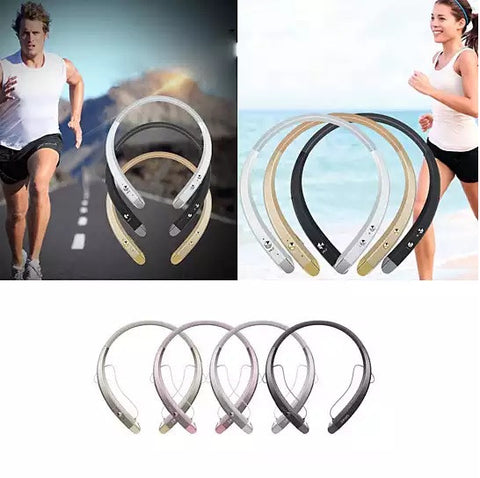 Bluetooth Neck Band Headphone and Phone Attender