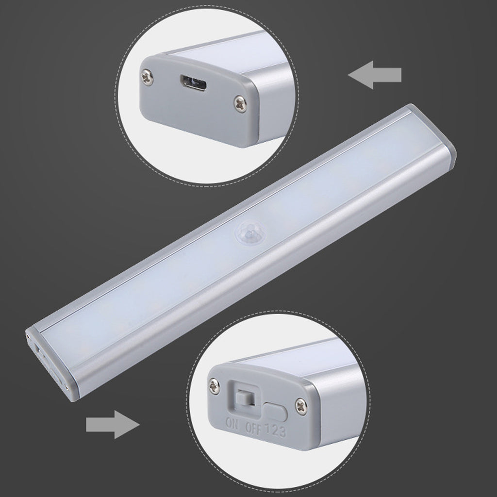 Let There Be Light 20 Motion LED Lights Rechargeable Battery