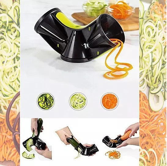 Spiralizer The 3 In 1 Tube Style Grater