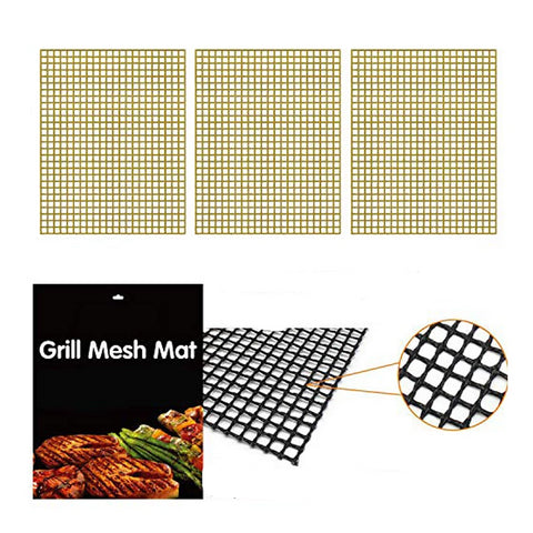 Grill Mesh Mat For Tailgating And Outdoor BBQ  3/PAK