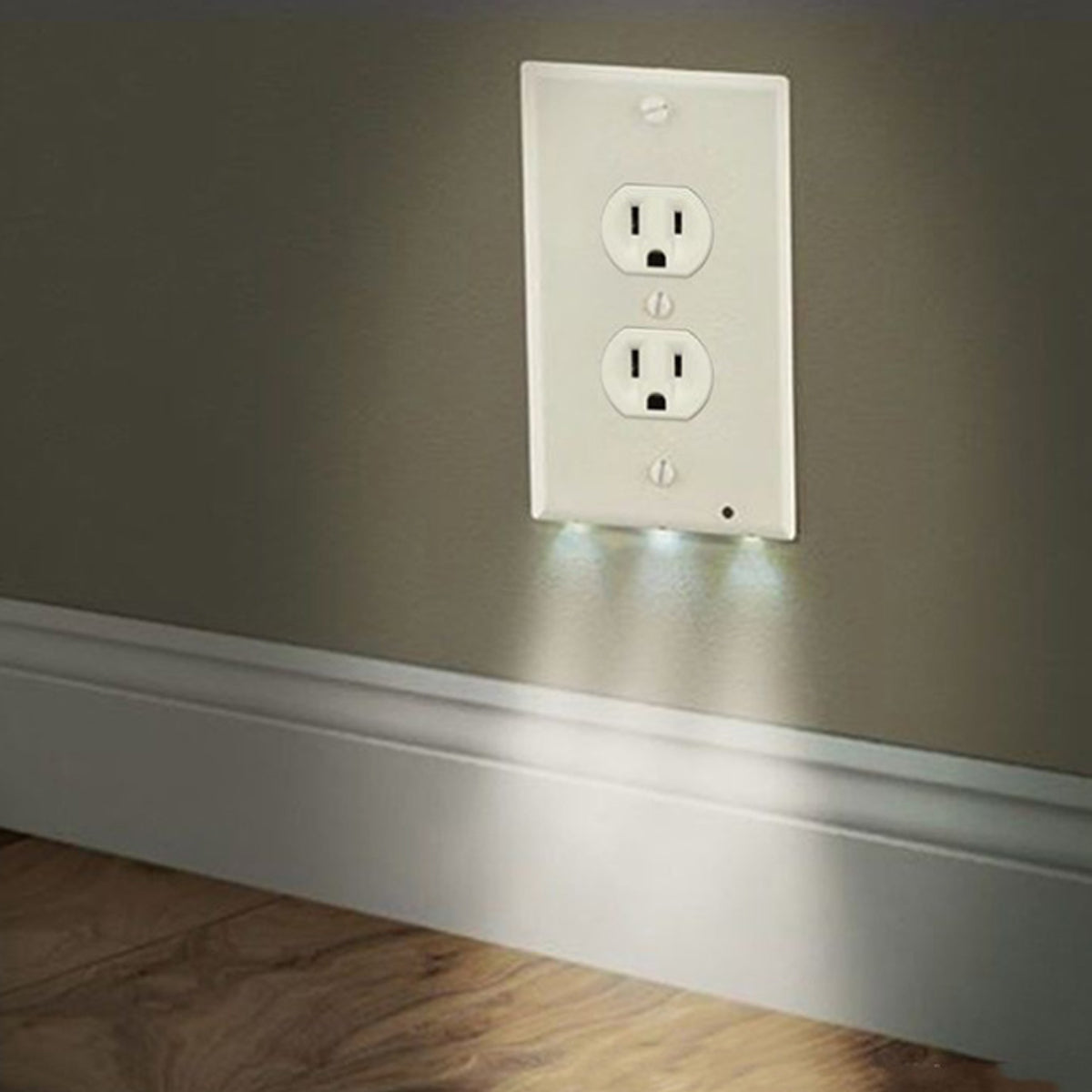 shopify-Path Lighter Auto Motion Wall Plate LED Light  2- PACK-7