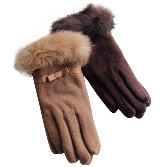 shopify-Kitten Mittens Faux Fur Lining Touch Smart Gloves-10
