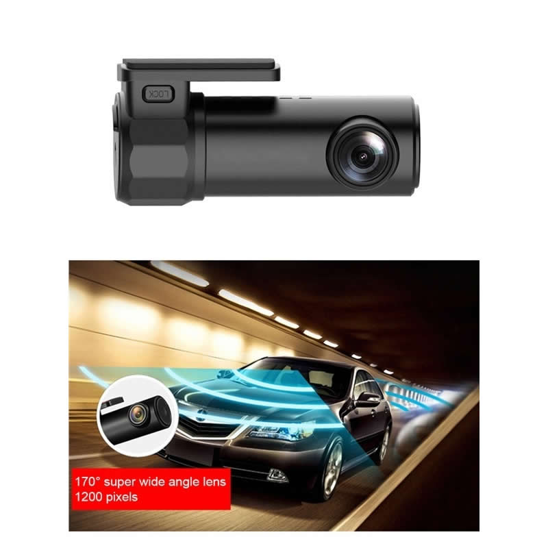 Car Dash Cam with Wifi and App