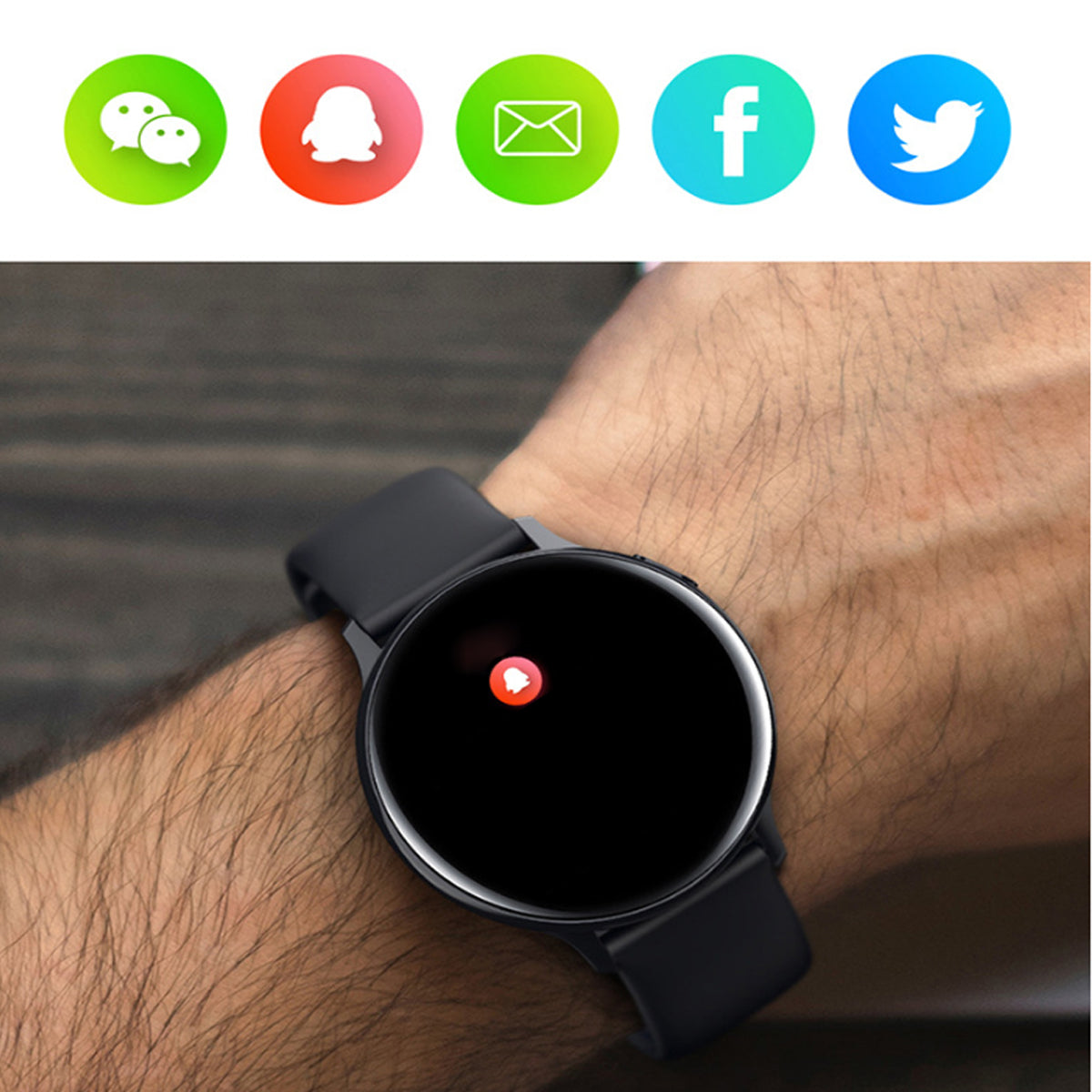 shopify-Smart Watch Round Face  Health Monitoring and Activity Tracker-13