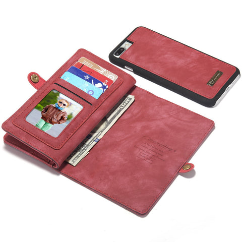 2 in 1 Secure iPhone 8 Case With Wallet