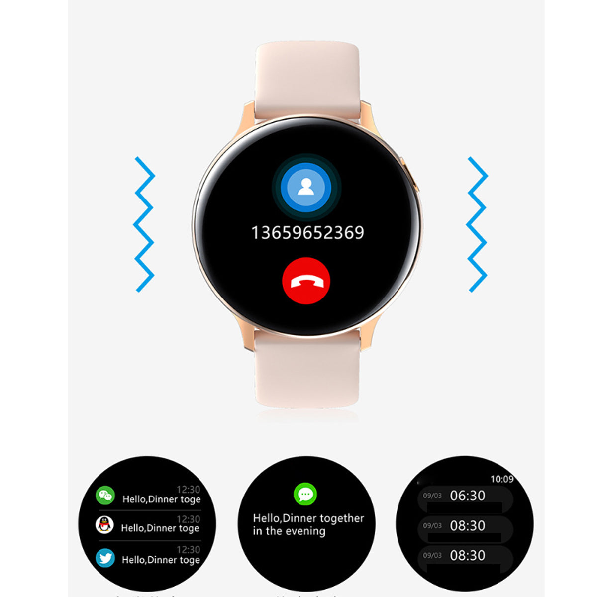 shopify-Smart Watch Round Face  Health Monitoring and Activity Tracker-14