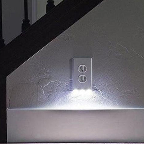 Path Lighter Auto Motion Wall Plate LED Light  2- PACK
