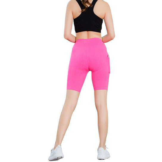 shopify-All Seasons Yoga Shorts Stretchable With Phone Pocket-11