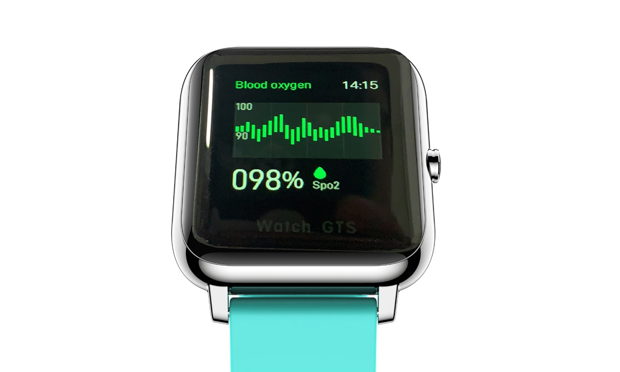 shopify-OXITEMP Smart Watch With Live Oximeter, Thermometer And Pulse Monitor With Activity Tracker-7
