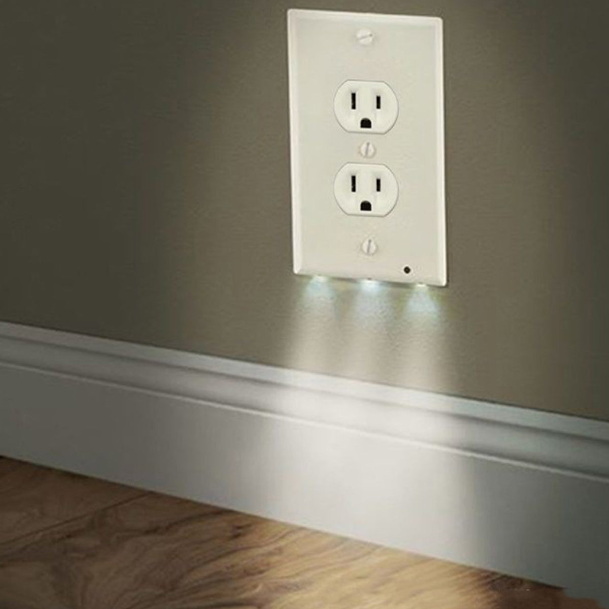 shopify-Path Lighter Auto Motion Wall Plate LED Light  2- PACK-3