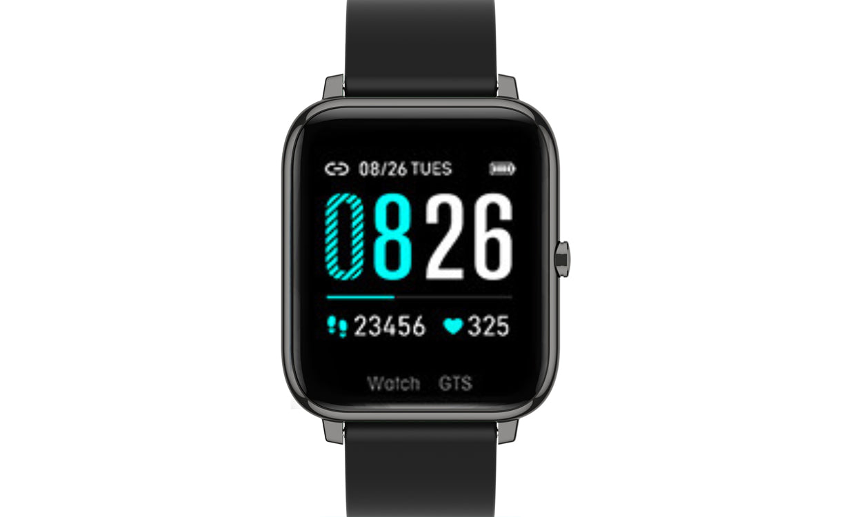 shopify-OXITEMP Smart Watch With Live Oximeter, Thermometer And Pulse Monitor With Activity Tracker-8