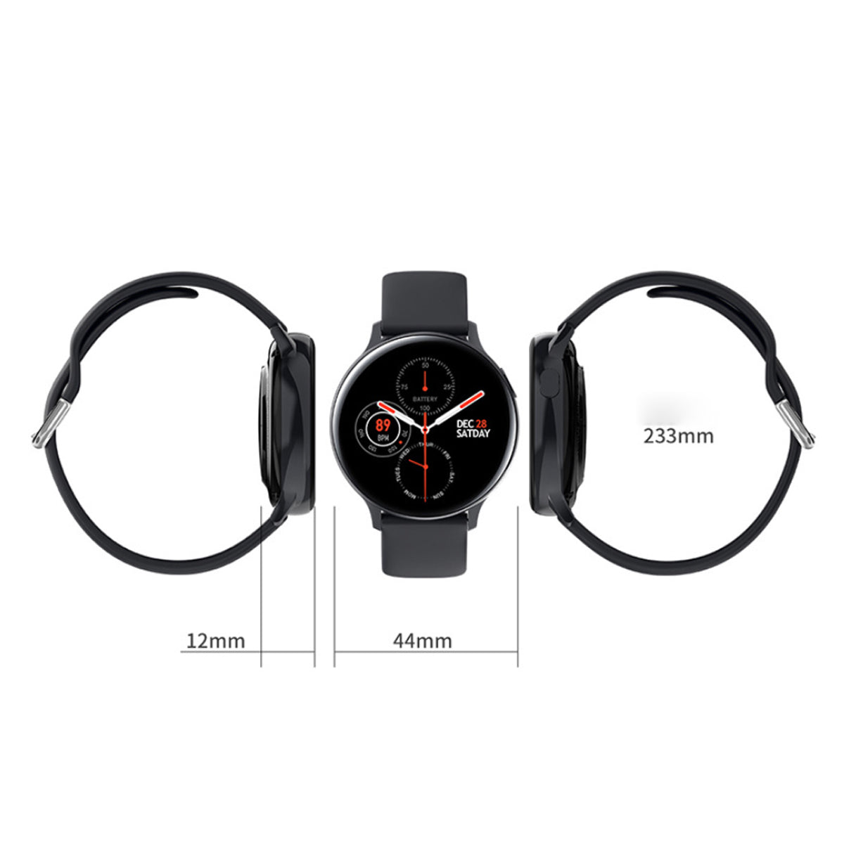 shopify-Smart Watch Round Face  Health Monitoring and Activity Tracker-17