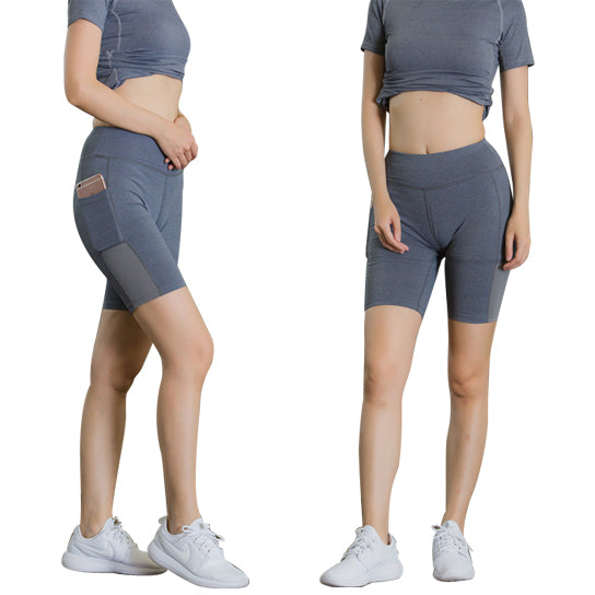 All Seasons Yoga Shorts Stretchable With Phone Pocket