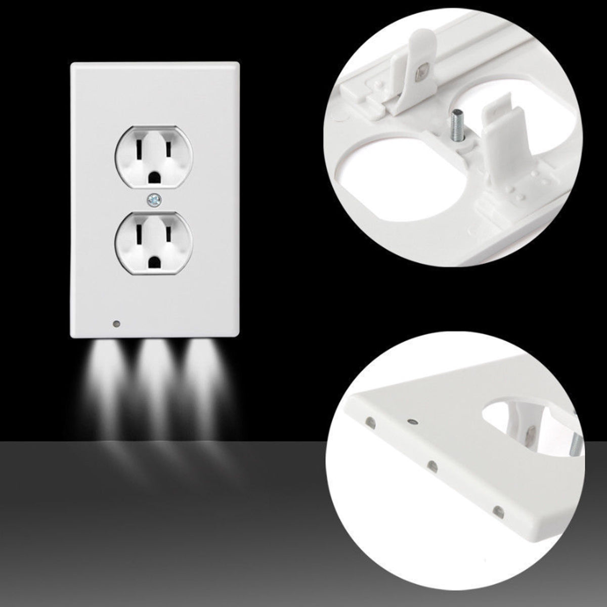shopify-Path Lighter Auto Motion Wall Plate LED Light  2- PACK-9