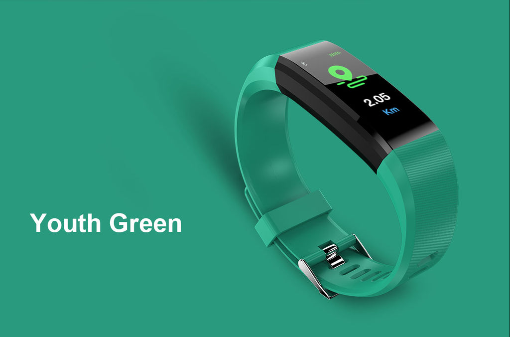 COOL COLORFUL OLED  Smart Fit Watch With Live HR GPS Trail Tracker