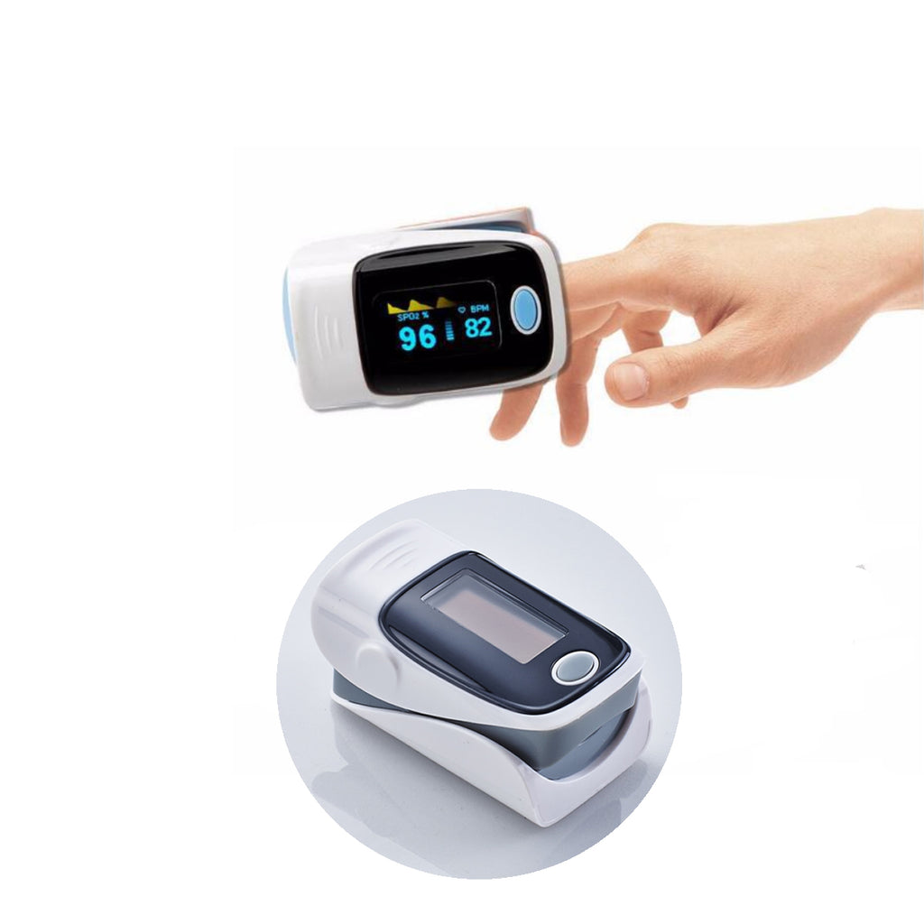 Fingertip Pulse Oximeter And Blood Oxygen Saturation Monitor With LED Display