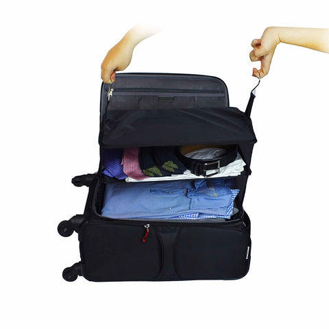 Carry On Closet Baggage Organizer