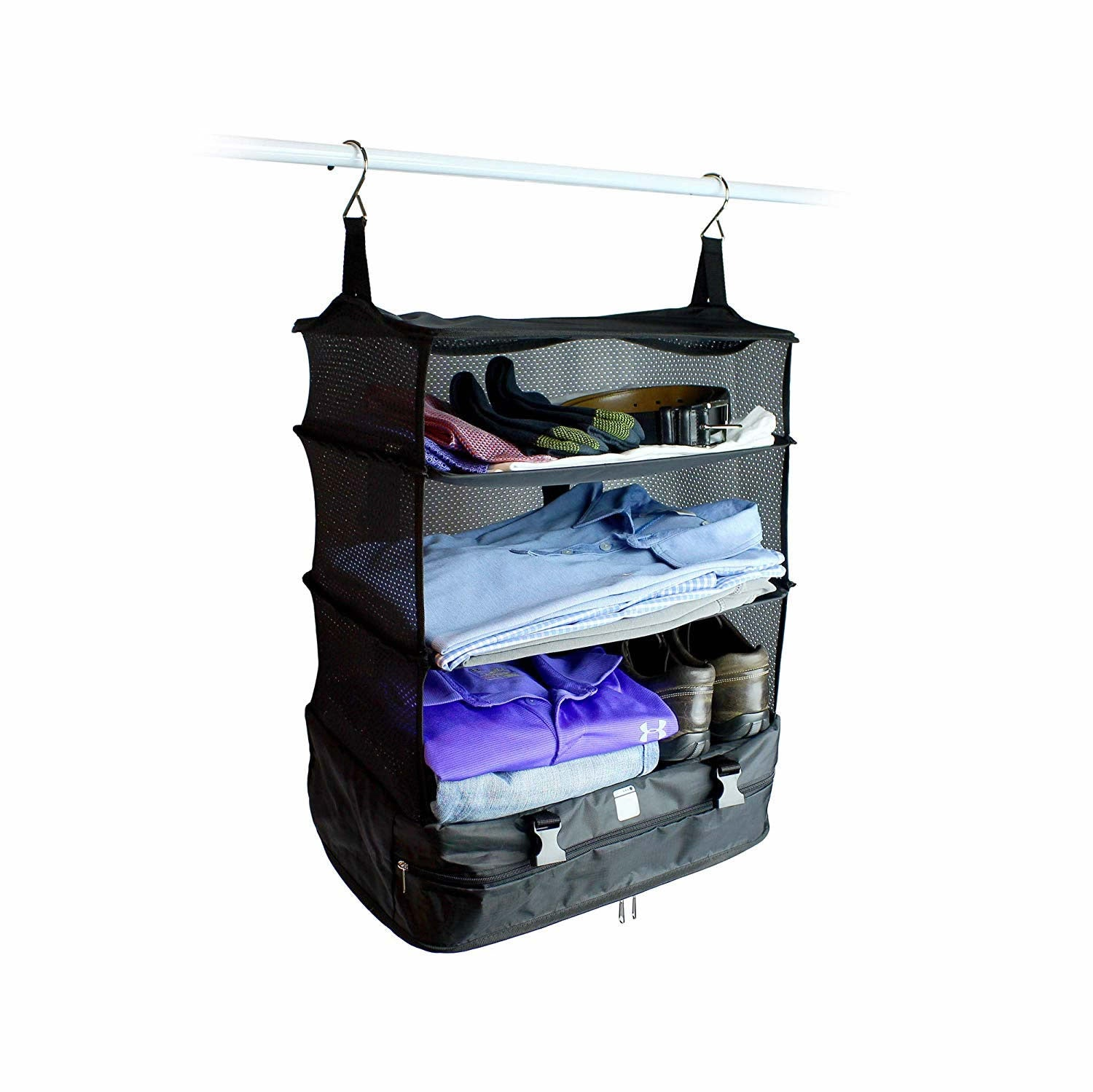 shopify-Carry On Closet Baggage Organizer-3