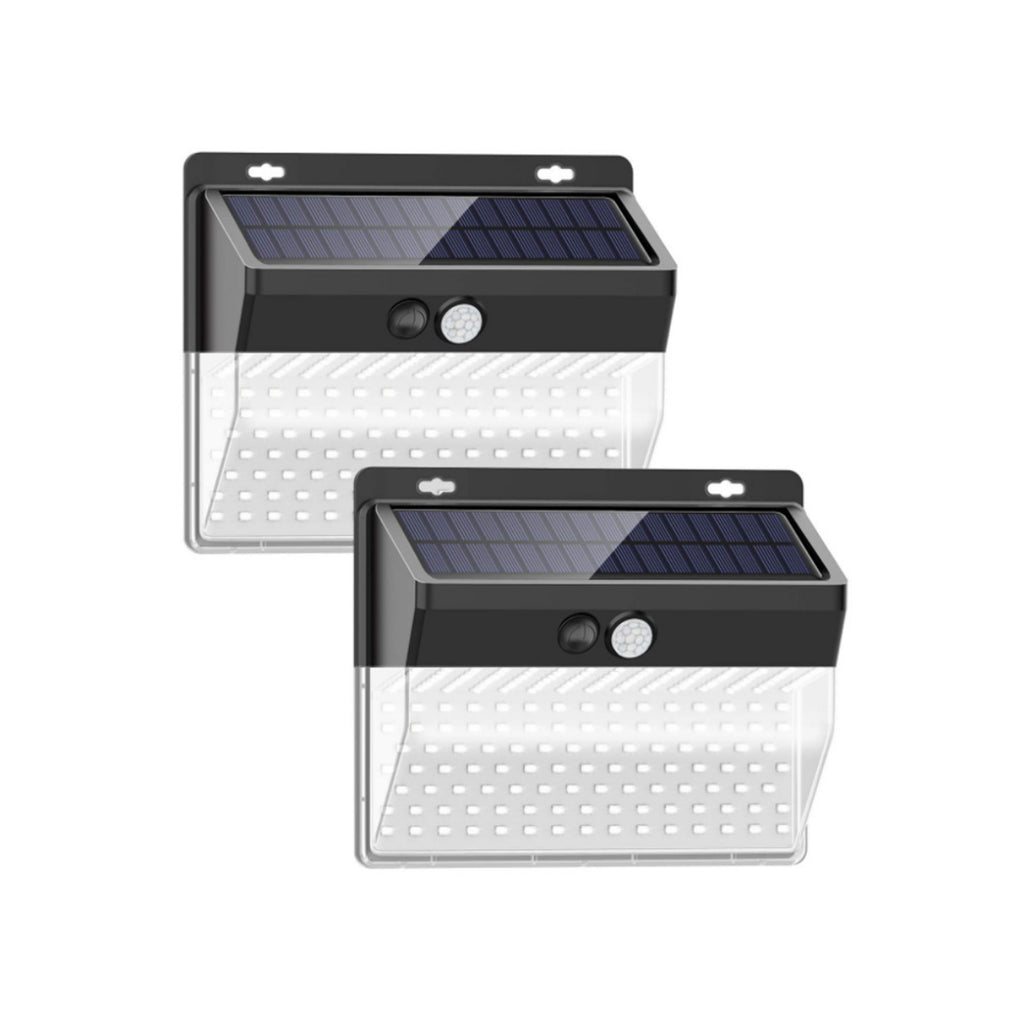 Lumina 206 LED Cluster Lights With Solar Power And Motion Sensor - 2/pack