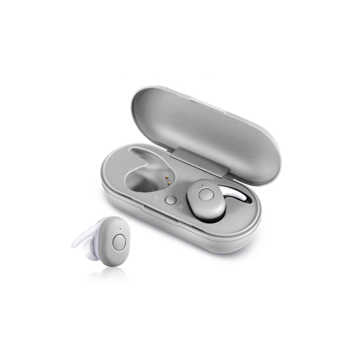 shopify-Twin Bluetooth Earpods With Chargeable Box-1