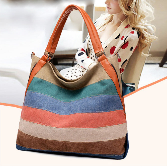 Spectrum Handbag With 7 Colors In 1 From Journey Collection
