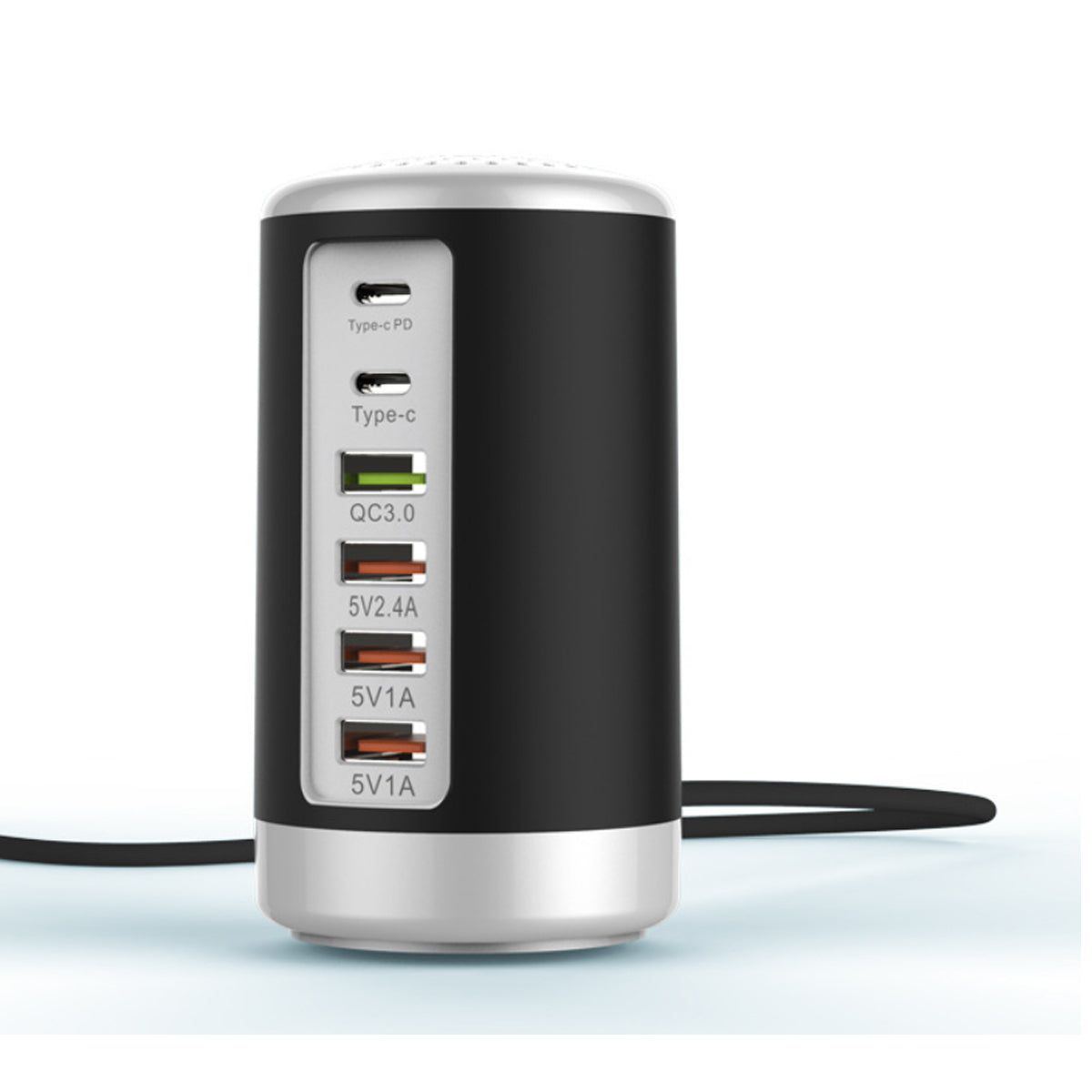 shopify-Tower USB With 6 High Speed Charging Ports-1