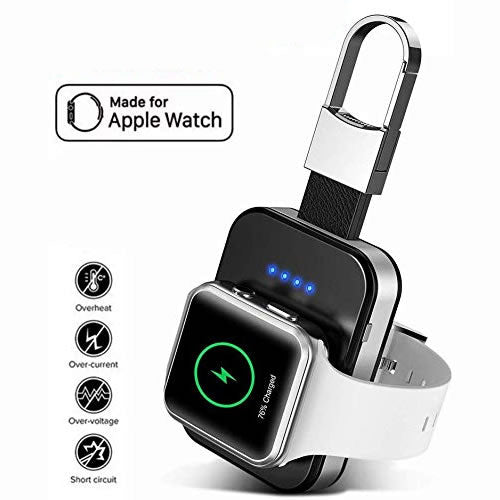 APPLE WATCH wireless Charger Power Bank On Key Chain