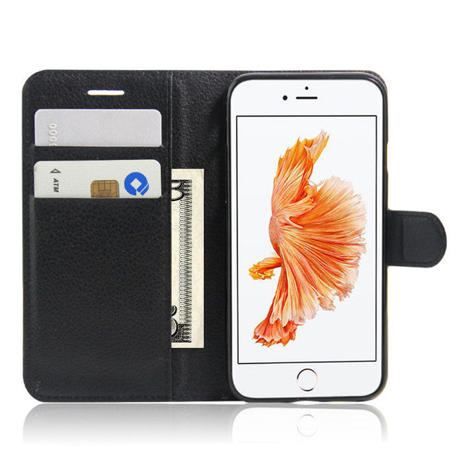 iPhone Solid Case with Wallet And Stand