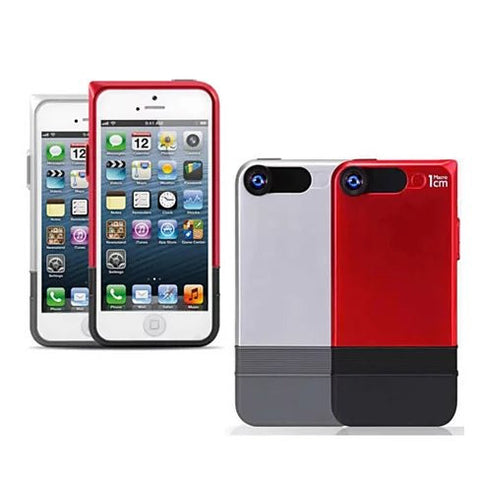 2 in 1 Lens and iPhone 6 or 6 Plus case with 360 protection. - VistaShops - 2