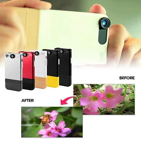 2 in 1 Lens and iPhone 6 or 6 Plus case with 360 protection. - VistaShops - 4