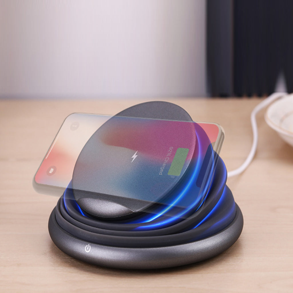 Accordina Ambient LED Light And Collapsible Wireless Phone Charger