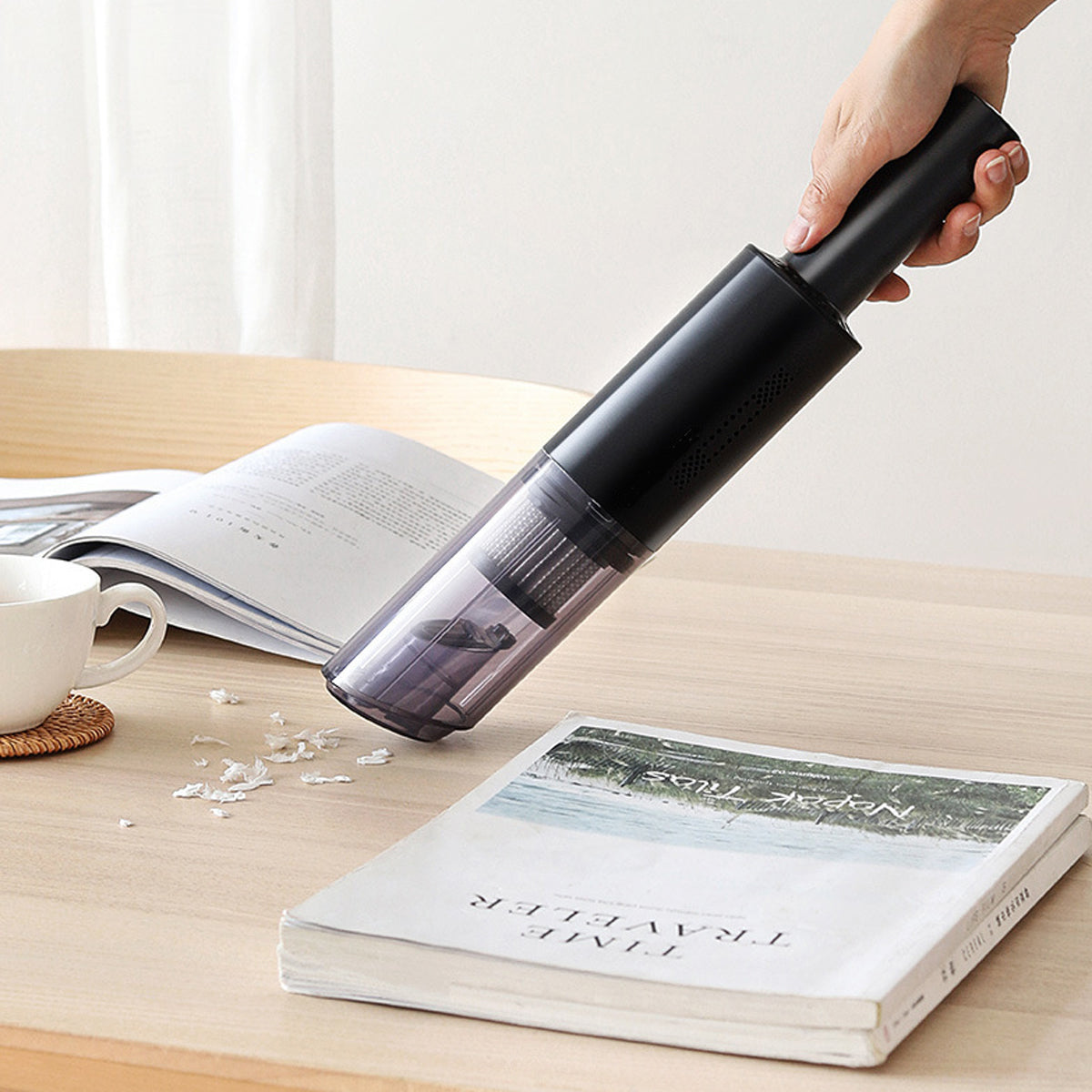 shopify-Mr. Dustbuster Handheld  Cordless Mini Vacume Cleaner For Car And Home-1