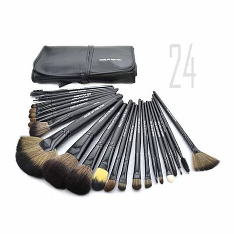Beauty Business 24 Pc High Quality Makeup Brush set - VistaShops - 3