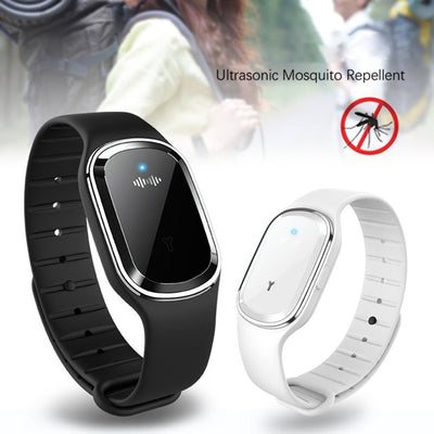 Super Shield Mosquito Repellent Watch Band Ultrasonic And Electronic