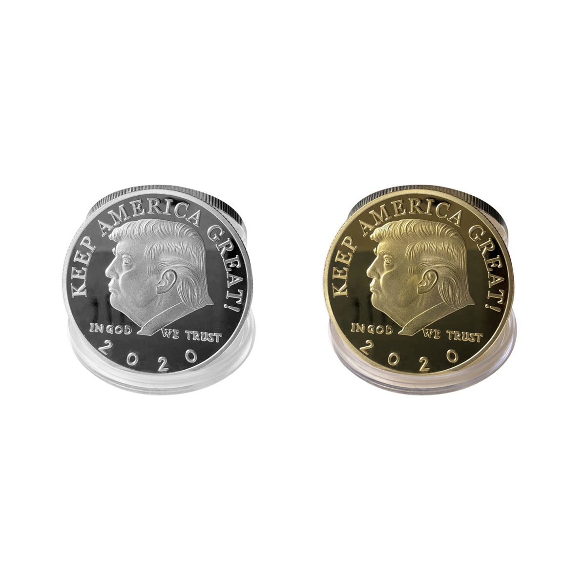 shopify-Keep America Great Trump Coins In Gold And Silver-1
