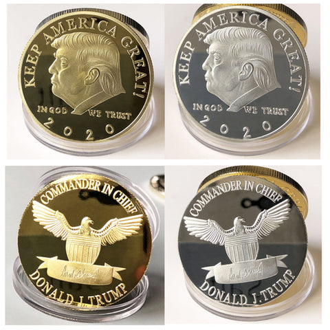 Keep America Great Trump Coins In Gold And Silver