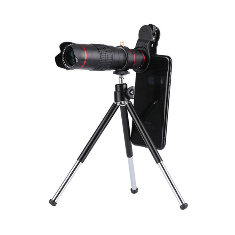 Zoomba Zoom-able 4K HD Telescopic Lens 18X With Tripod