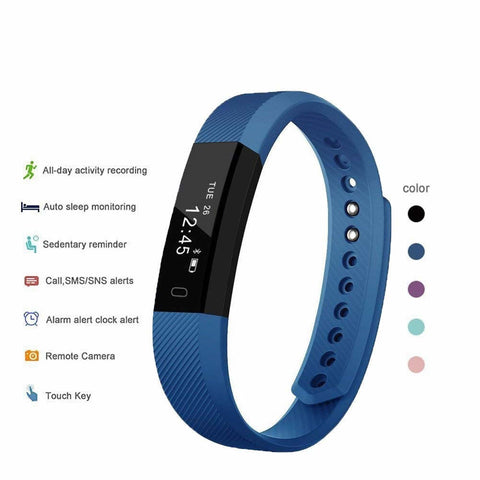 SmartFit Slim Activity Tracker And Monitor Smart Watch With FREE Extra Band
