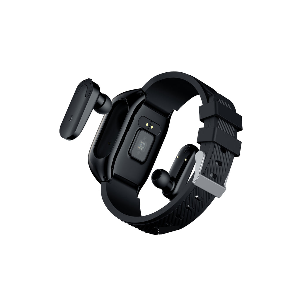 2 in 1 Compact Smart Fit Watch And Bluetooth Earpods