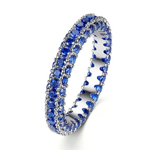 La Luna Rings Lavish And Delicate Eternity Bands