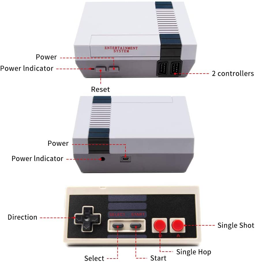 shopify-Retro Inspired Game Console 620 Games Loaded-5