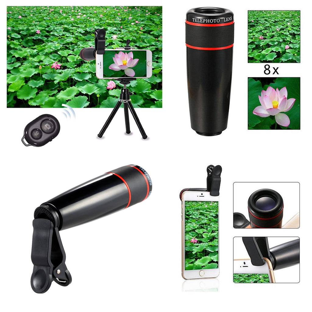 11 in 1 Smartphone Camera Lens Kit