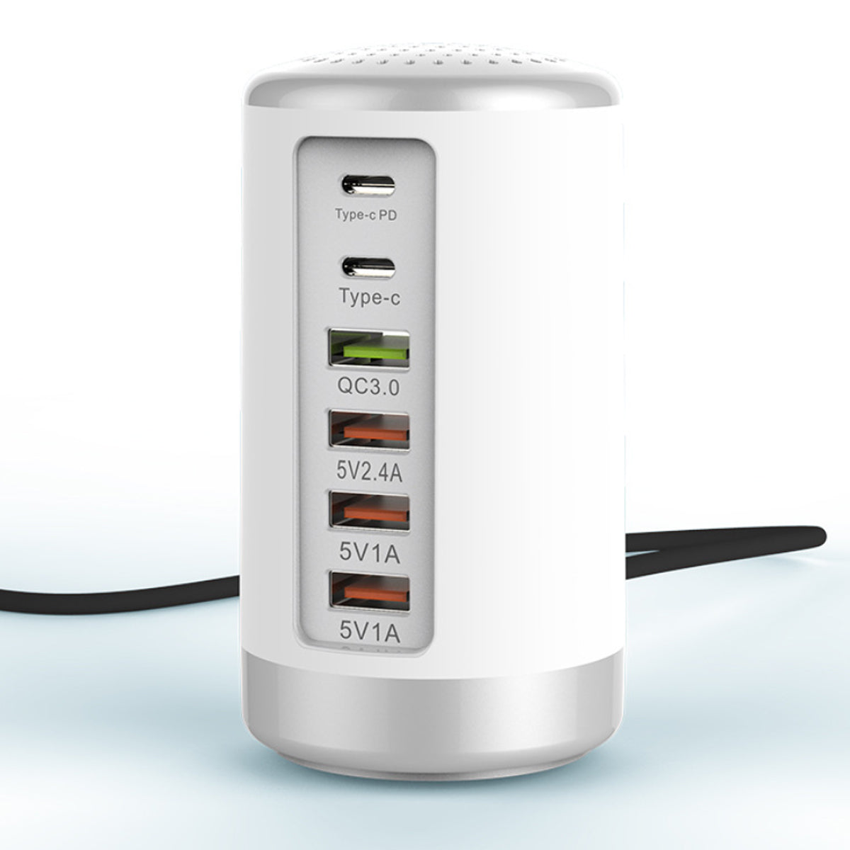 shopify-Tower USB With 6 High Speed Charging Ports-2