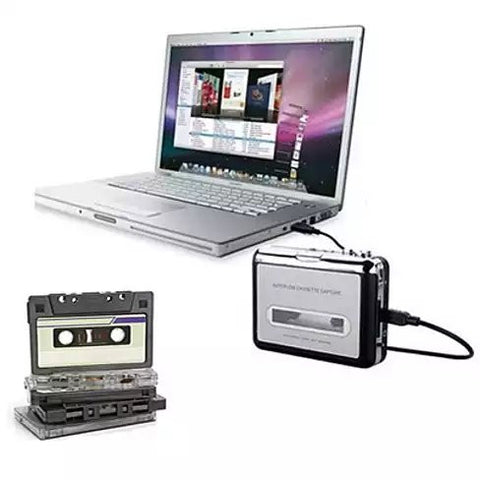 2 in 1 Audio Cassette to MP3 Music converter - VistaShops - 1