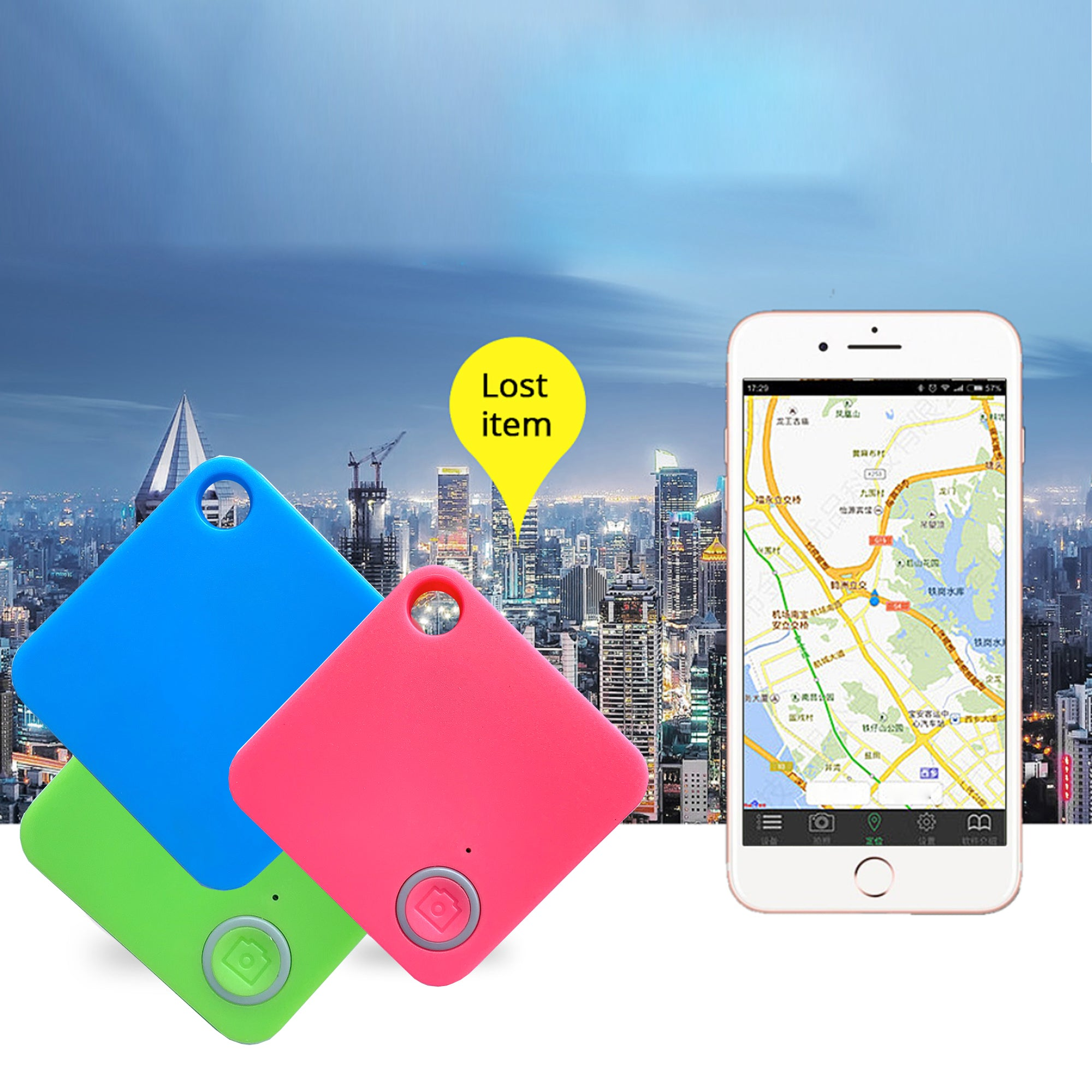 shopify-GPS Enabled Lost And Found Tracker 5-Pack-4