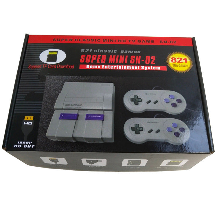 shopify-Retro Inspired Game Console With HDMI + 821 Games Loaded-3