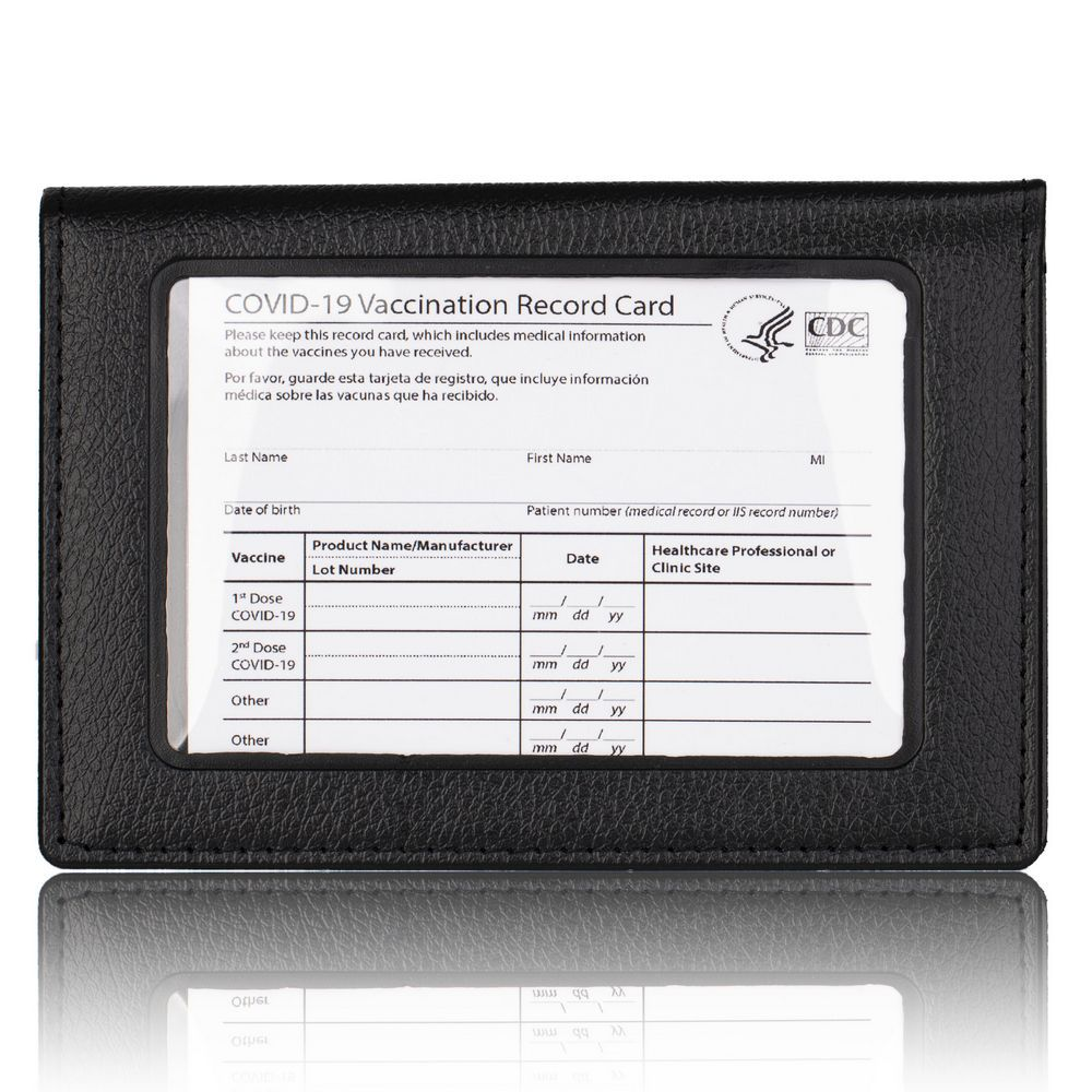 shopify-Essential 2 In 1 Vaccination Card And ID Card Holder-1