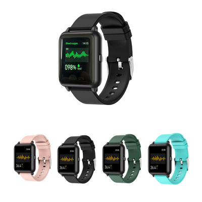 OXITEMP Smart Watch With Live Oximeter, Thermometer And Pulse Monitor With Activity Tracker
